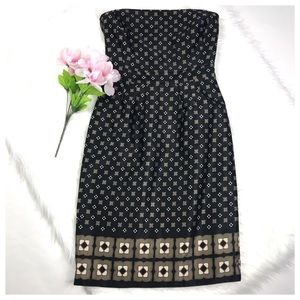 Banana Republic black strapless dress. Size 4